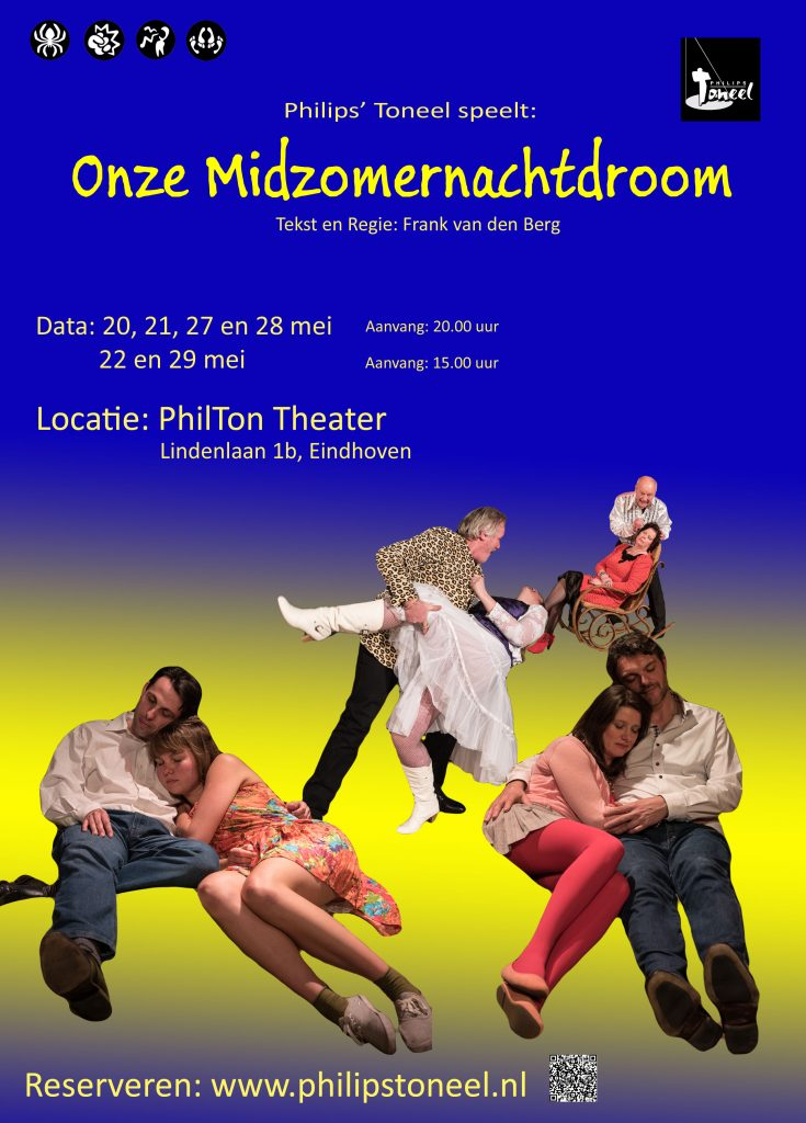 Poster Onze Midzomernachtdroom